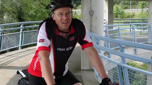 Pavel Šebesta je evangelický kazatel na hodonínské farnosti, jeho velkou vášní je cyklistika.