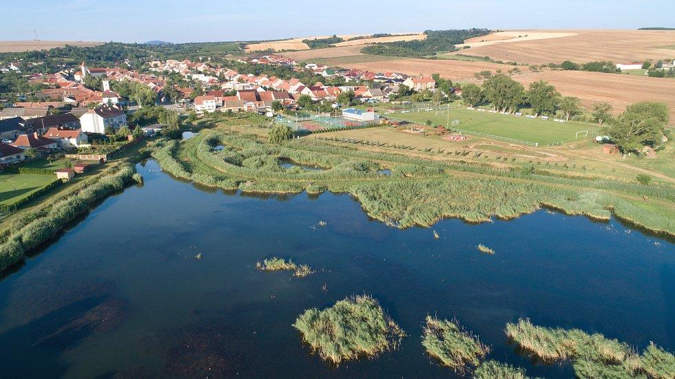 Do krajiny vrací vodu i život, budování biokoridorů je v kurzu. Na snímku v Starovicích na Břeclavsku.