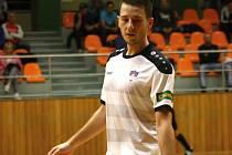 Útočník Tanga Milan Svoboda (na snímku) patří v letošní sezoně k nejproduktivnějším hráčům nejvyšší futsalové soutěže. Jeden gól dal i Třinci.