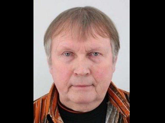 Pohřešovaný Jiří Biegun.