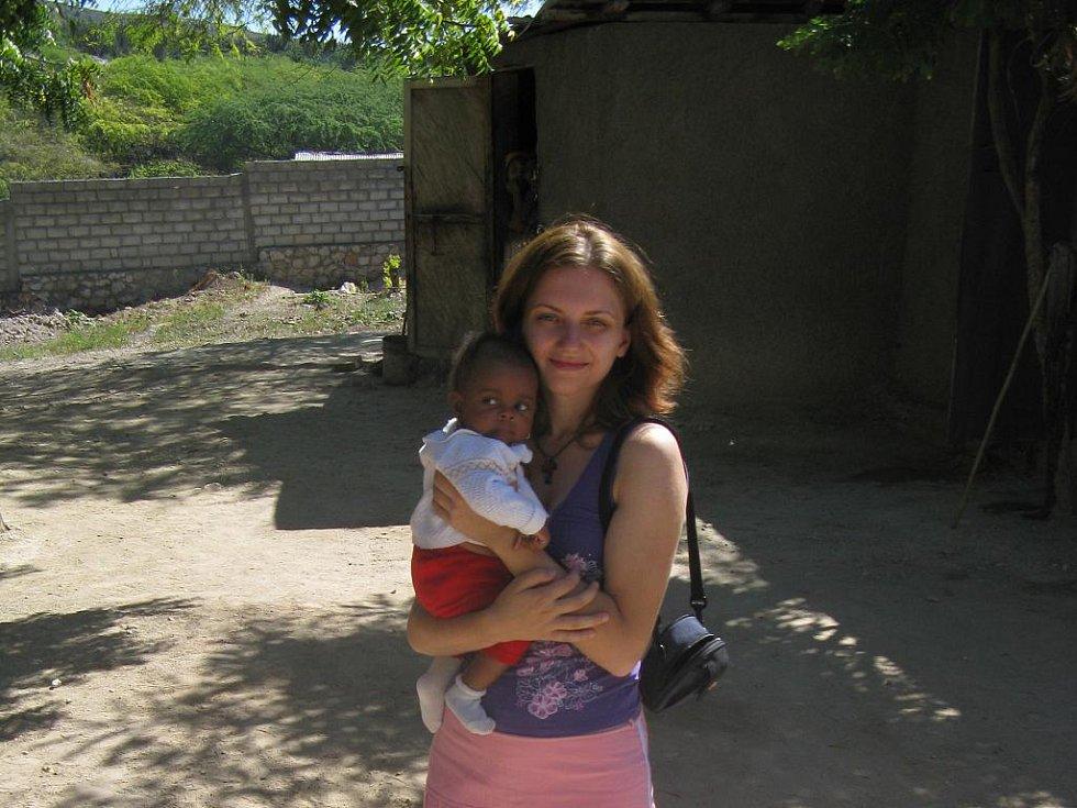 Renata Nováková na Haiti