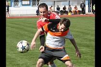 Fotbalisté Kyjova prohráli i v Lednici a v tabulce první A třídy skupiny B dál zůstávají na předposledním místě.