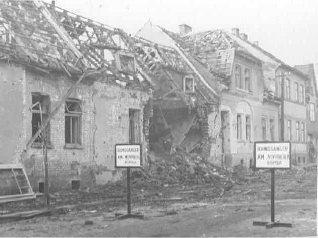 Bombardování Hodonína z 20. listopadu 1944.