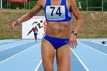 Hodonínská běžkyně Veronika Paličková překonala v běhu na šedesát metrů vlastní okresní rekord.