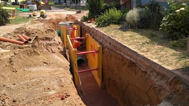 V Dolních Bojanovicích se dočkají nové kanalizace