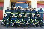 Zásahová jednotka strážnických dobrovolných hasičů. Foto: Archiv SHD Strážnice