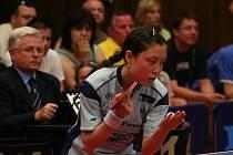 Shi Dan v loňském finále s Frýdlantem