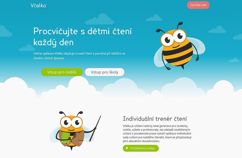 U zrodu úspěšné online vzdělávací aplikace Včelka stál strážnický rodák Michal Hudeček.