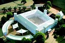Prezentaci veselského zámku představili ve zmenšené maketě architekti společnosti Anarchitekt.