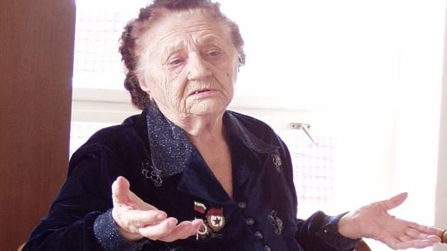 Eva Laptěva bojovala u Stalingradu. Dnes žije v Ratíškovicích na Hodonínsku, kde se i narodila.