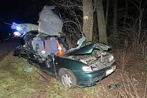 Muž na Hodonínsku přecenil své schopnosti a dostal auto do smyku.
