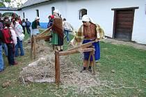 Program Podzim na dědině patří mezi nejoblíbenější události ve strážnickém Skanzenu.