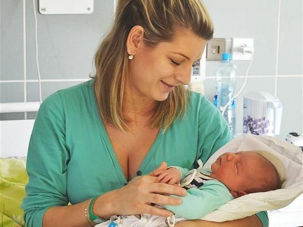Silvii Horáčkové se v břeclavské nemocnici narodil syn Adrian.