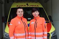 Jitka Jágerová z Dubňan (vlevo) a Eva Marášková z Rohatce coby záchranářky pomáhají lidem z celého Hodonínska.