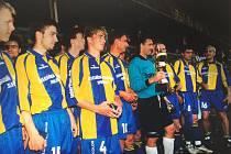 Ratíškovický Baník postoupil v roce 2000 až do finále Poháru ČMFS.
