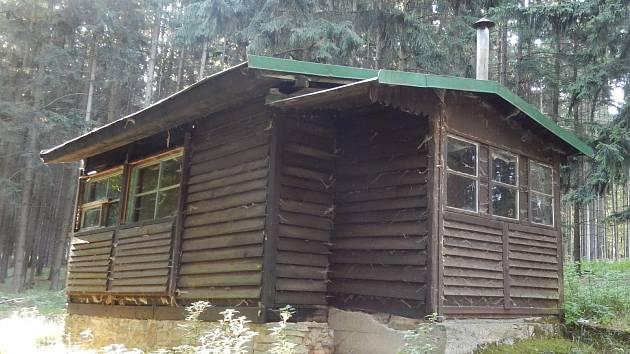 Strážnická lesní chata.