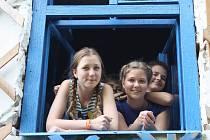 Art mlýn Bohuslavice pořádá týdenní tvořivé dílny pro děti, hlavním tématem je Hedvábná stezka.