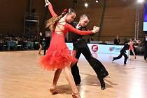 Pár TK Orion Adam Krůza s Hanou Sigmundovou bral na mezinárodní soutěži v Brně stříbro a bronz.