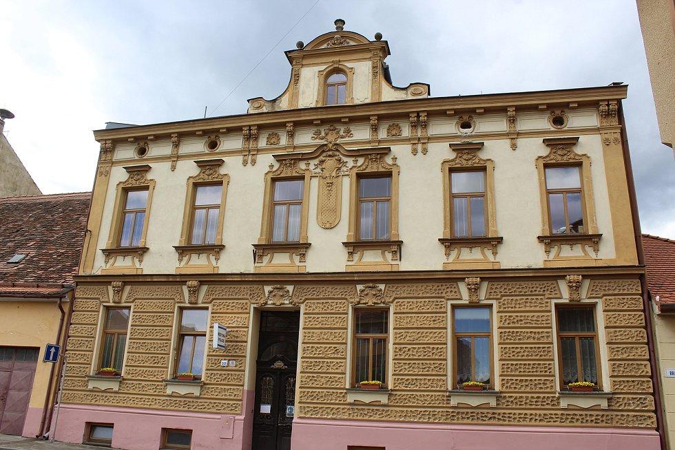 Budova Městské policie ve Strážnici.