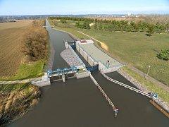 Chystaná plavební komora Rohatec má být hotová v roce 2021.
