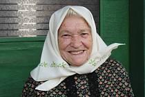 Bojanovická osobnost Růžena Komosná.