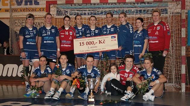 Finalistky Českého poháru 2010: HC Britterm Veselí nad Moravou