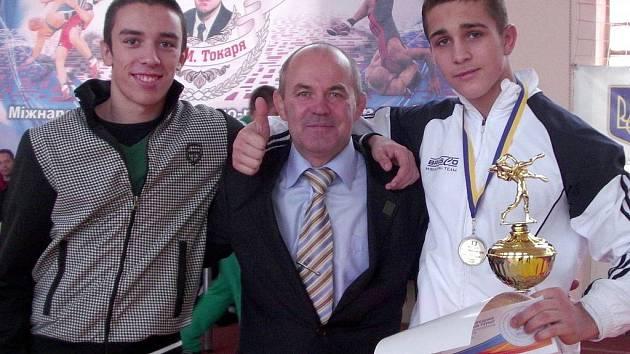 Hodonínští zápasníci Daniel Dobeš a Michal Balák si přivezli z východní Evropy řadu zážitků.