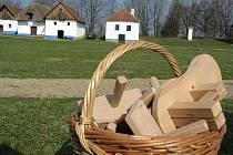 Vynášení smrtky, pletení pomlázek nebo hrkání po vesnici. Návštěvníci se dozvěděli o velikonočních zvycích.