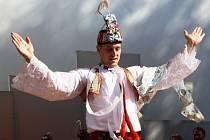 Nejlepším tanečníkem slováckého verbuňku je Stanislav Popela z Perné.