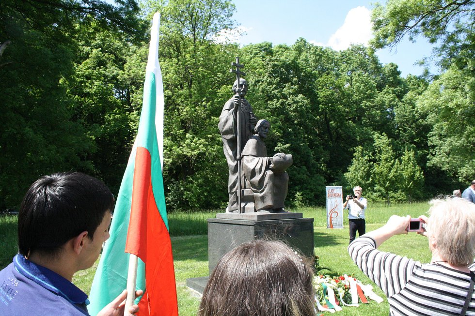 Jaro v Rasticově městě Morava. Bulharský kulturní den.