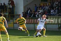 Fotbalové utkání Mutěnic a Benešova