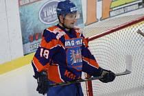 Hodonínský útočník Vladimír Stejskal vévodí s šestadvcaeti body produktivitě druhé ligy.