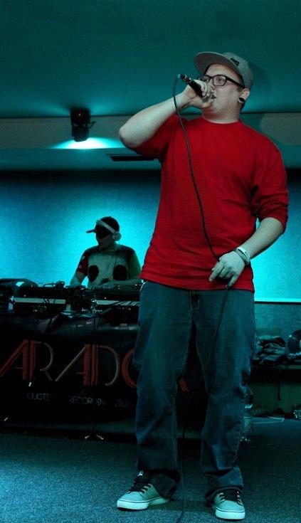 Hip hop párty v hodonínském Hudebním clubu Nautilus.