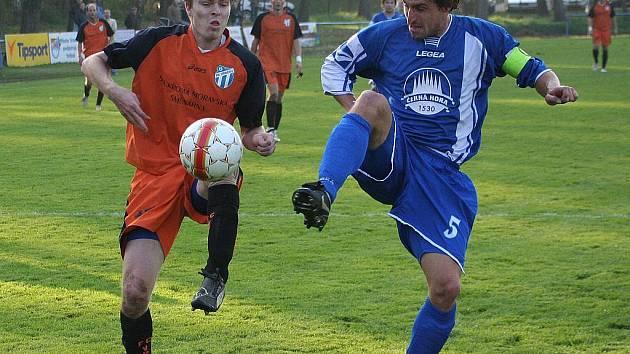 Fotbalisté Vracova prohráli s Boskovicemi.