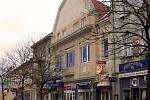 Kavárna Adler, později Slavia, jak vypadá její exteriér.