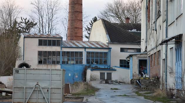 Areál bývalé kyjovské mlékárny. Ilustrační foto.
