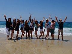 Studenti hodonínské obchodní akademie na týdenním pobytu při evropském vzdělávacím programu zaměřeném na ekologii.