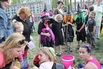 Pálení čarodejnic v Hodoníně U Červených domků.