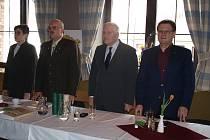 Volební sjezd okresního mysliveckého spolku Hodonín ve Bzenci.