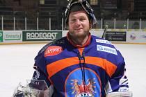 Slovenský brankář Zdenko Kotvan (na snímku) byl pořadateli Winter Classic vyhlášen nejlepším hráčem Hodonína.