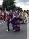 Strážnice o víkendu žila třiasedmdesátým folklorním festivalem. Diváci tleskali i barevné podívané, kterou předváděli hosté z Mexika.