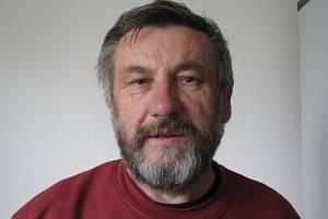 Karikaturista Jiří Hiršl.