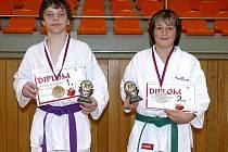 Mladí kyjovští karatisté David Horňák a Dominik Skalický se dokázali ve druhém kole národního poháru prosadit.
