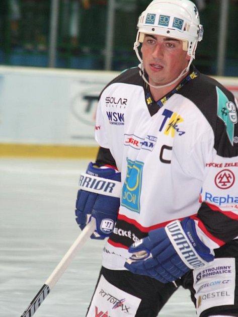 Drtiči přestříleli loni v exhibici Jágr Team - Tomáš Kaberle.