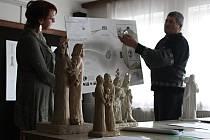 V Ratíškovicích se představila šestice návrhů soch Cyrila a Metoděje, z nichž tamní Nákloši vyberou tu, která už v červenci bude stát na Nákle.