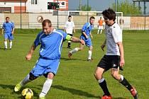 Nedělní derby Dolních Bojanovic se Starým Poddvorovem zhlédlo 350 diváků. Z vítězství 2:1 se radovali domácí fotbalisté.