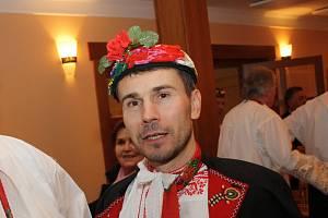 Umělecký vedoucí Mužského pěveckého sboru z Mutěnic Josef Ilčík.