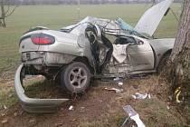 Smrtelná nehoda na silnici mezi Svatobořicemi-Mistřínem a Kyjovem.