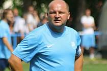 Hrající trenér Uhřic Tomáš Valihrach bude i v první B třídě sázet na tradiční opora a osvědčené hráče.