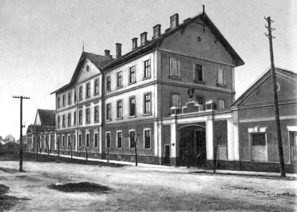 Malá kasárna patřila k 7. pluku od roku 1928.